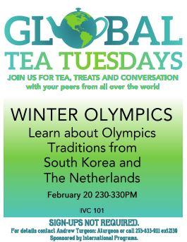 Global Tea Olympics 2-2018