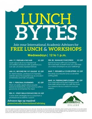 Lunch Bytes Flyer B783